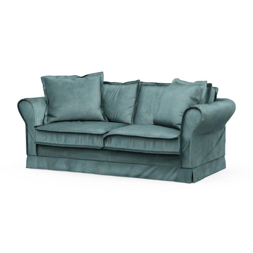 Carlton Sofa 2,5s, Velvet, MinBlue