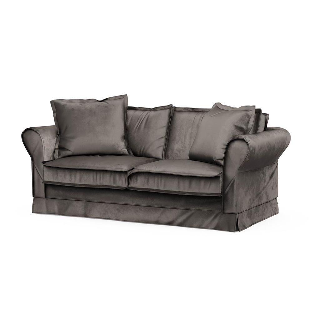 Carlton Sofa 2,5s, Velvet, GrGrey