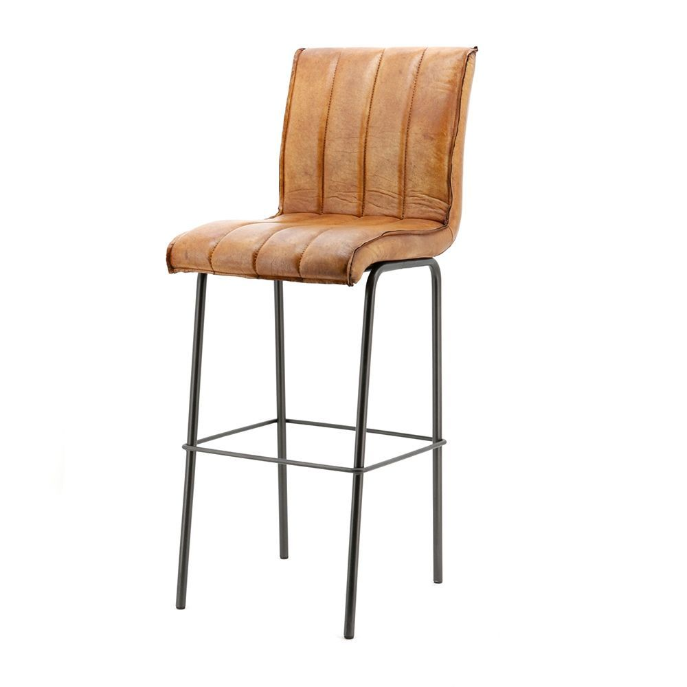 Barová stolička Marvin, Cognac