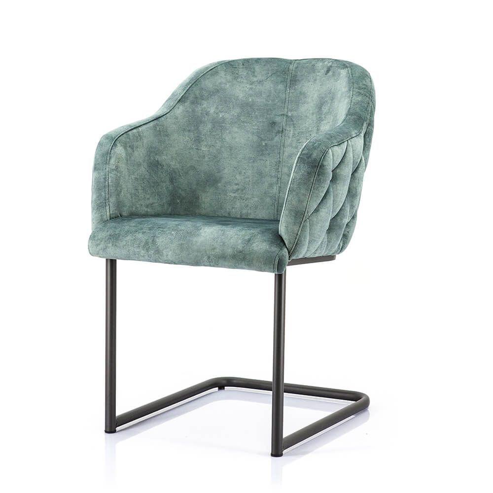 Chair Paulette - green bonnie