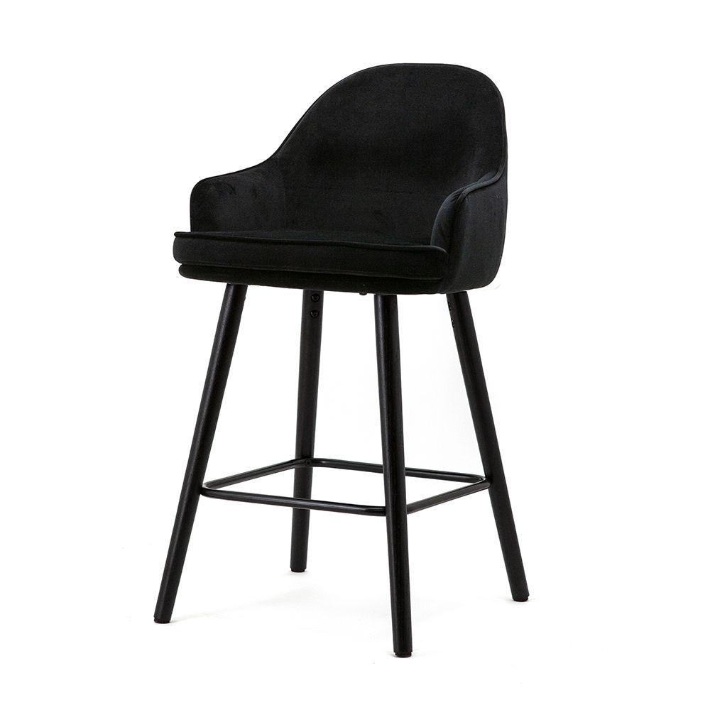 Barová stolička Barbara, Black Motown