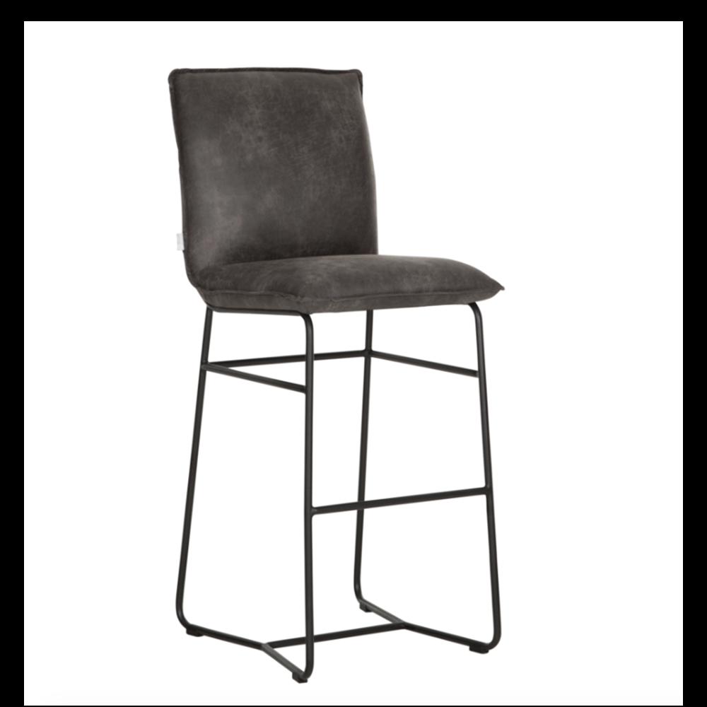 Barová stolička Delaware, Anthracite