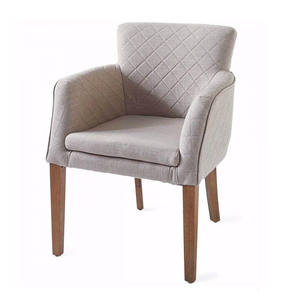 Waverly Armchair, Linen, Flax