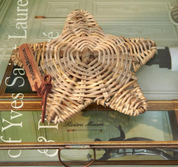 Dekorácia Rustic Rattan Sea Star