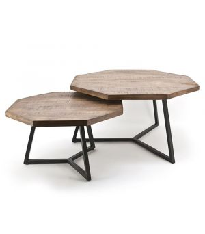 Coffeetable set Octagon