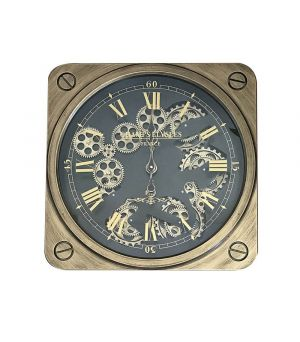 Wall clock Champs Elysees 50x50x8