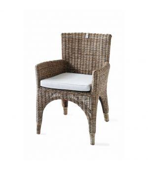 Ratanová jedálenská stolička The Hamptons