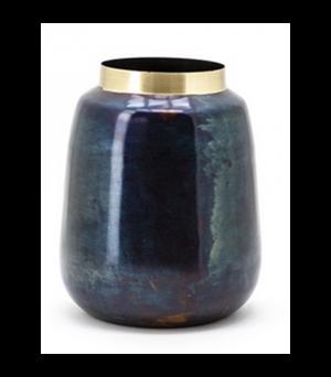 Kovová váza Nile