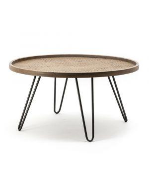 Konferenčný stolík Drax - large, ∅80cm