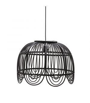 Závesná lampa Jin - black