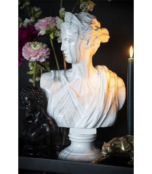Ceres - white marble