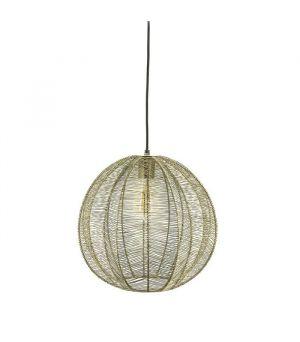 Závesná lampa Floss small - bronze