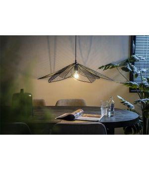 Závesná lampa Archtiq - čierna