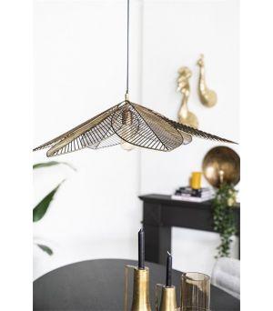 Závesná lampa Archtiq - bronze