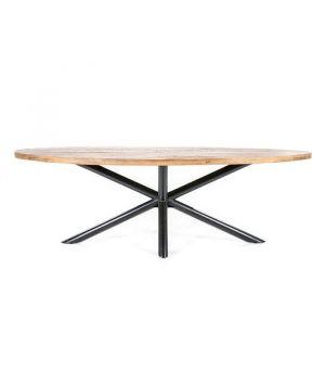 Oválny jedálenský stôl Oscar 200x110cm