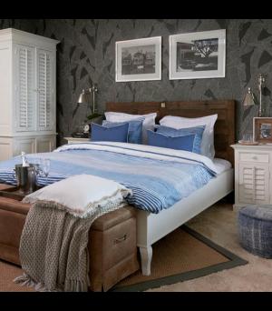 Posteľ Driftwood Double Bed 180x200cm