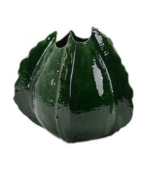 Green ceramic vase Los Cabos