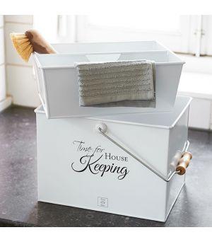 Úložný box Time For House Keeping Storage Box