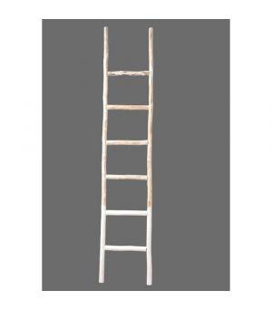 Houten ladder 42x5x220 cm