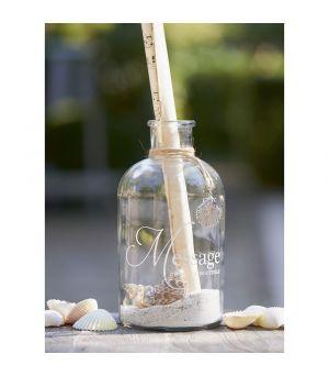Dekorácia Summer Shell Bottle