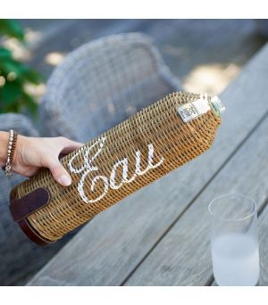 Držiak Rustic Rattan Eau Bottle Holder