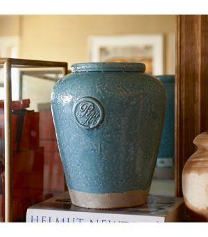 Váza RM Ginger Pot vintage blue