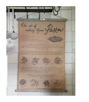 Plagát Pasta Recipe Banner