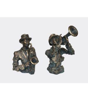 Socha S/2 Saxophonist+Trompetist 39h/47h