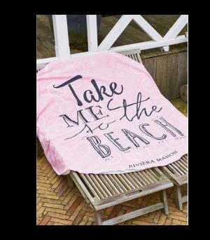 Plážová osuška Take Me To The Beach Towel