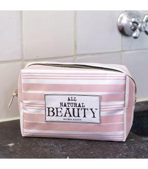 Toaletná taštička All Natural beauty COSMO Bag pink