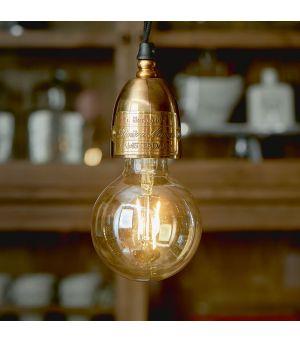 Williamsburg Hanging Lamp brass