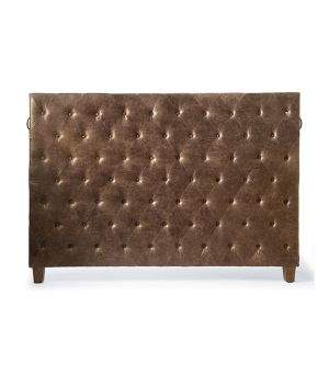 Union Square Headboard Double, Pellini, Coffee