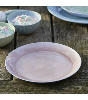 Tanier Botteghe pink plate