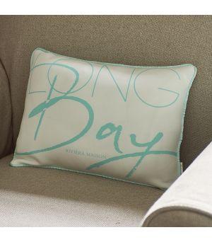 Návlek na vankúš Long Bay Pillow Cover blue 40 x 30