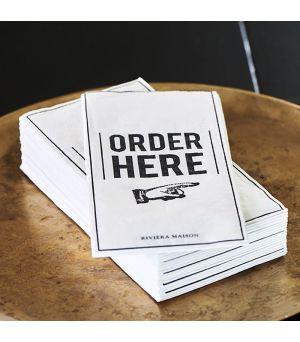 Paper Napkin Order Here