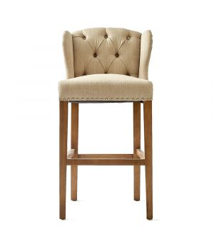 Barová stolička Keith II, Linen Flax