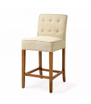 Barová stolička Cape Breton Counter, Linen, Flax