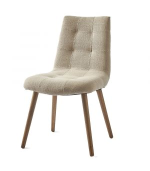 Duke Dining Chair, polyester-linen