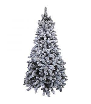 ARTIF.CHRISTMAS TREE W/SNOW 240h