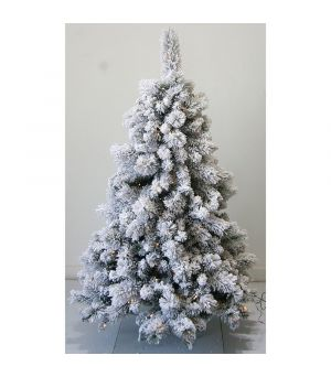 Xmas Tree w/Snow + LED, 150cm