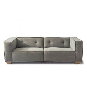 Hampton Heights Sofa 3.5s, Washed Cotton, Stone