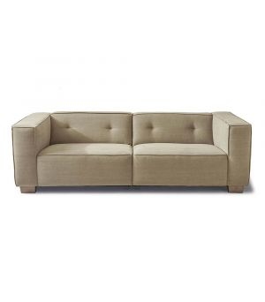 Hampton Heights Sofa 3.5s, Washed Cotton, Natural