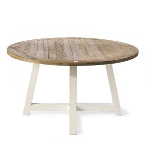 Canyamel Dining Table White ∅ 140 cm