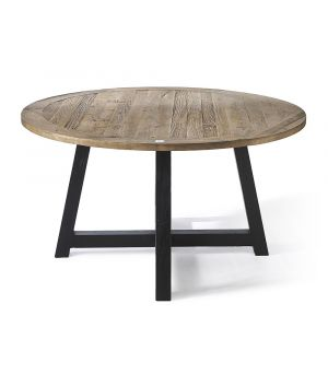 Canyamel Dining Table Black ∅ 140 cm