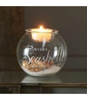 Svietnik Seashell Fillable Votive