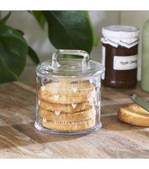 Dóza Lovely Heart Storage Jar