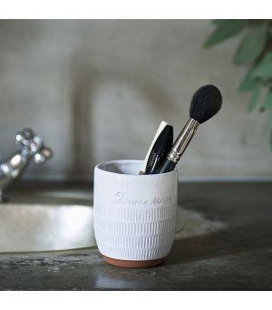 Pohár na zubné kefky Basic Bali Bathroom Mug