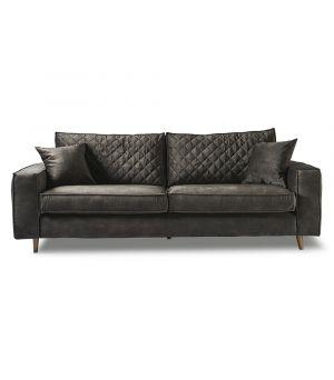 Sedačka Kendall Sofa 3.5s, Velvet, Grim Grey