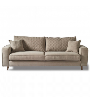 Kendall Sofa 3.5s, Washed Cotton, Naturel