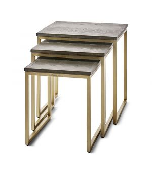 Stolíky Costa Mesa End Table S/3